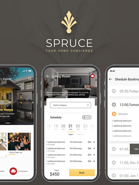 spruce android app development